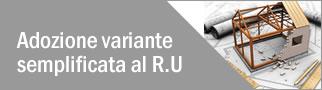 Adozione Variante semplificata al R.U.